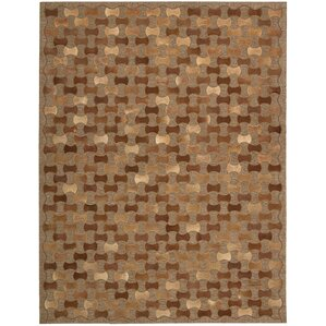 Chicago Hand Woven Brown Area Rug