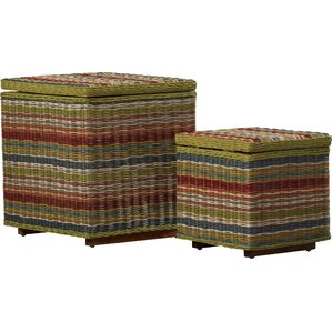 Saragosa 2 Piece Ottoman Set by Bay Isle Home