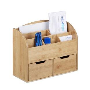 Jessie 2 Drawer Desk Organiser By Natur Pur