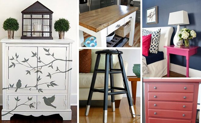 Decorating With Unfinished Furniture