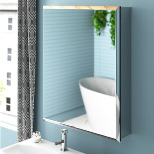 Surface Mount Mirror Cabinet By Croydex