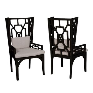 Rondalla Wing Wingback Arm Chair (Set of ..