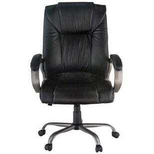 Harwick Furniture High-Back Leather Executive Chair