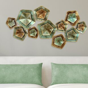 Layered Large Metal Wall Décor