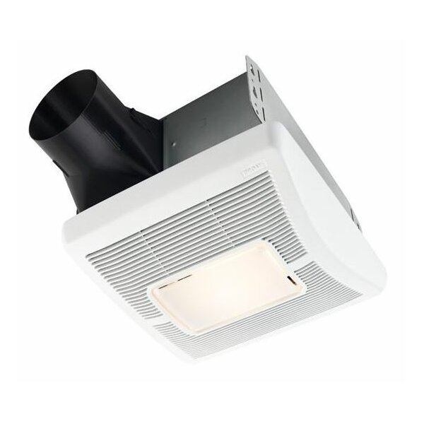 InVent Single-Speed 70 CFM Bathroom Fan with Light