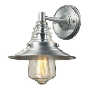 Cearley 1-Light Outdoor Barn Light By Brayden Studio Outdoor Lighting