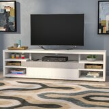 Atoll Solid Wood TV Stand for TVs up to 78 by Ebern Designs
