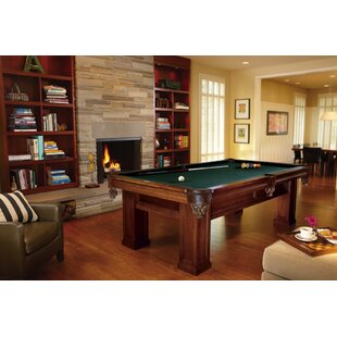 Buying Oak Hill Billiards 8.3' Slate Pool Table By Brunswick Billiards