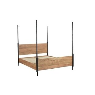 Montes Four Poster Bed by Union Rustic