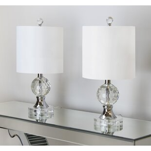 Compare prices 17.5 Table Lamp (Set of 2) (Set of 2) By Grandview Gallery