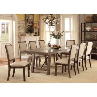 Shelby 9 Piece Dining Set Canora Grey