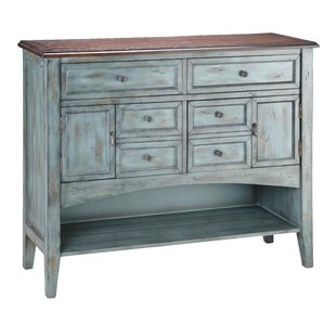 Stein World Painted Treasures 4 Drawer Accent Moonstone Accent Chest
