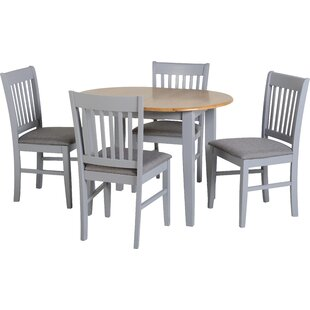 Bouvet Extendable Dining Set With 4 Chairs