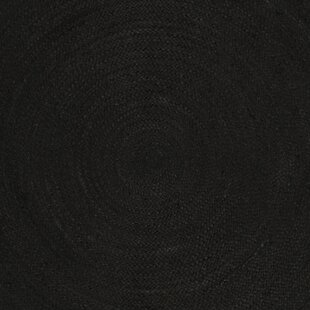 Affordable Johna Hand-Woven Black Area Rug ByBungalow Rose