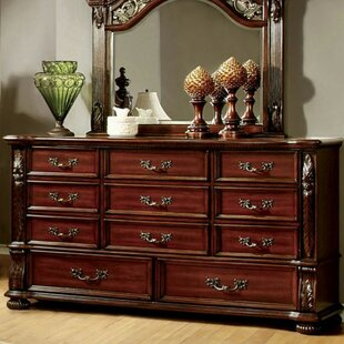 Corkermain 11 Drawer Dresser with Mirror