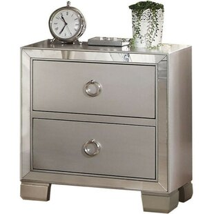 Beil 2 Drawer Nightstand by House of Hampton
