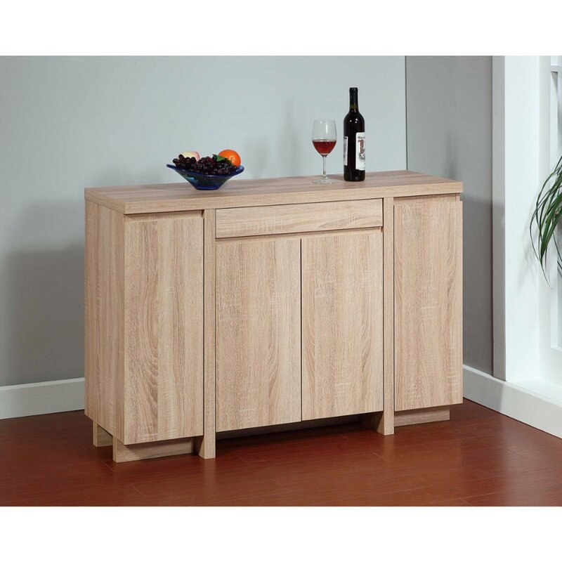 Genial Domenico Contemporary Style Buffet Table