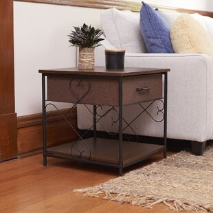 Remer End Table with Storage by Fleur De Lis Living