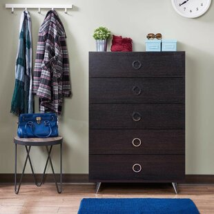 Persia Traditional 5 Drawer Chest by Wrought Studio Modern