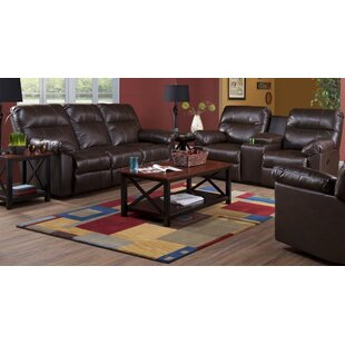 Buy clear Serta Upholstery Corwin DBL Reclining Loveseat by Alcott Hill Reviews (2019) & Buyer's Guide