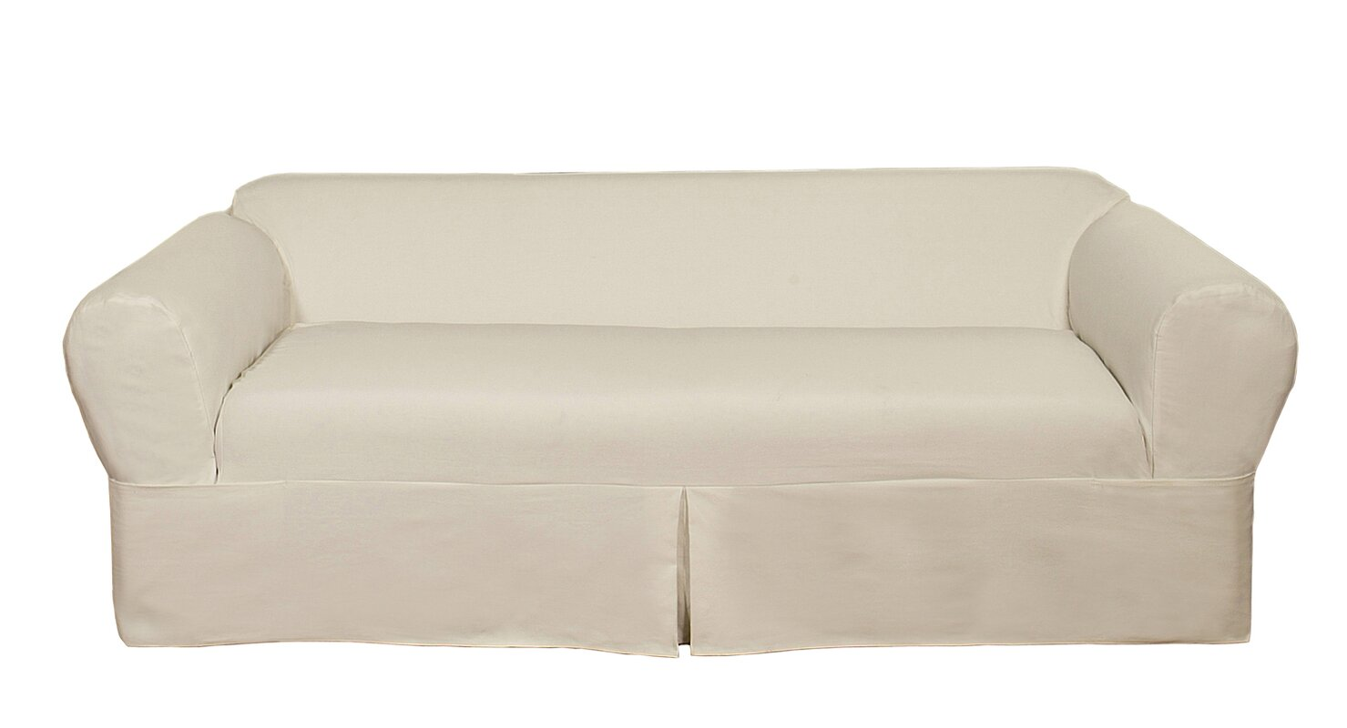 darby home co box cushion sofa slipcover reviews wayfair default name
