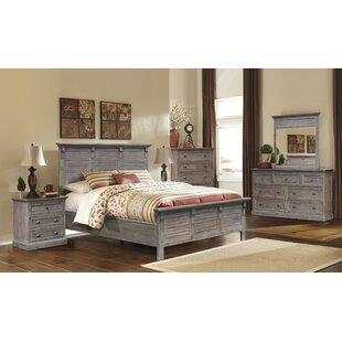 Kenric Panel 5 Piece Bedroom Set by Gracie Oaks New