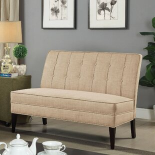 Liddle Fabric Armless Upholstered Bench