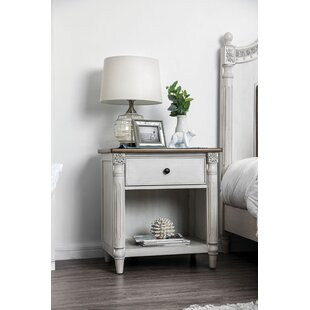 Mccormack 1 Drawer Nightstand by Rosdorf Park