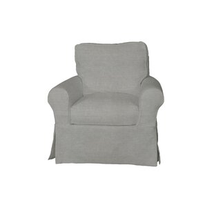 Rundle Swivel Armchair by Beachcrest Home