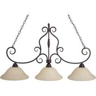 Amelia 3-Light Pendant by Darby Home Co