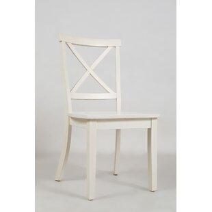 Alcott Hill Dunster X Back Side Chair (Set of 2)