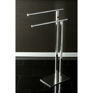 Edenscape Double Freestanding Towel Stand By Kingston Brass