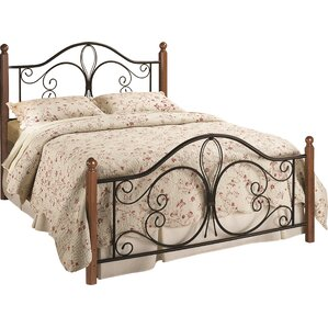 Anzilotti Panel Bed by Fleur De Lis Living