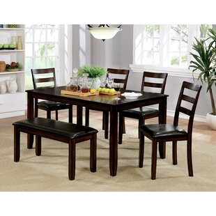 Danielian 6 Piece Dining Set by Red Barre..