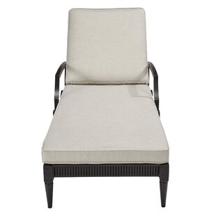 Canora Grey Euston Reclining Chaise Lounge with Cushion (Set of 2)