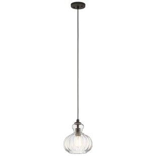 Mcdougal 1-Light Globe Pendant by Ebern Designs