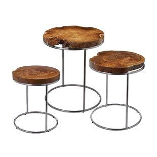 Brayden Studio Gipson 3 Piece End Table Set