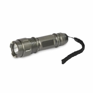 Metcalfe Gunmetal Battery Powered LED Outdoor Flashlight By Symple Stuff