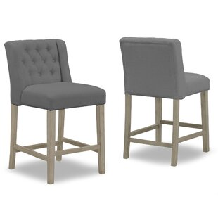 Genevra 25.25 Bar Stool (Set of 2) One Allium Way