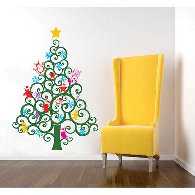 The Holiday Aisle Magic Glow Christmas Tree Italian Quotes Wall ...