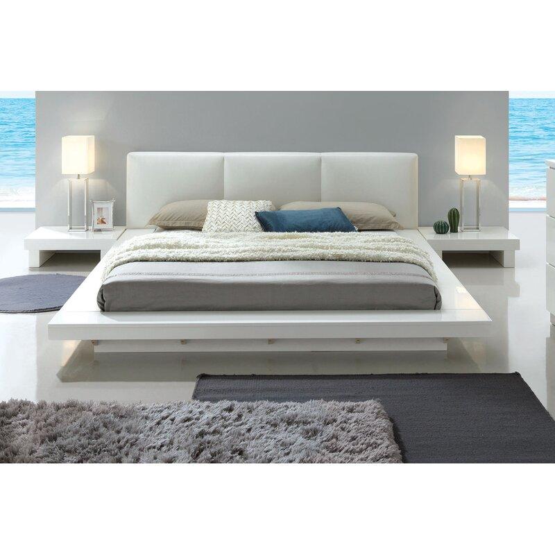 Alayah upholstered platform bed