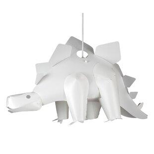 Dinosaur Plastic Novelty Pendant Shade by MiniSun