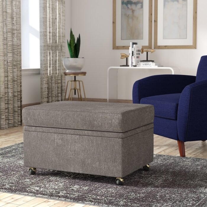 Cool Rendon Storage Ottoman Gmtry Best Dining Table And Chair Ideas Images Gmtryco