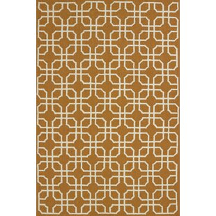 Tengan Atrium Handmade Cinnamon Indoor/Outdoor Area Rug