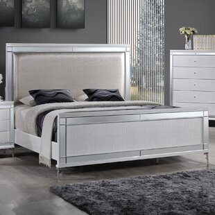 Best Quality Furniture Upholstered Panel Bed