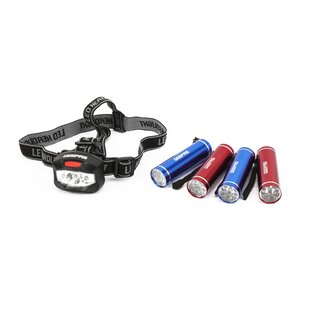 5 Piece Flashlight And Headlamp Set Image
