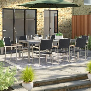 Dolder 8 Seater Dining Set By Sol 72 Outdoor