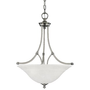 Dominy 3-Light Bowl Pendan..