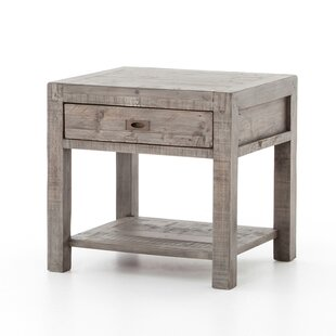 Glenna End Table by Gracie Oaks