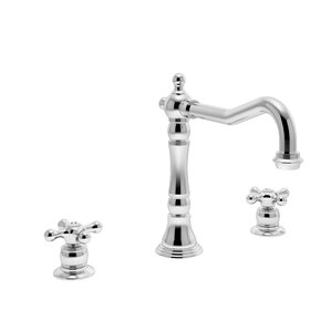 Symmons Carrington Double Handle Widespread Kitchen Faucet
